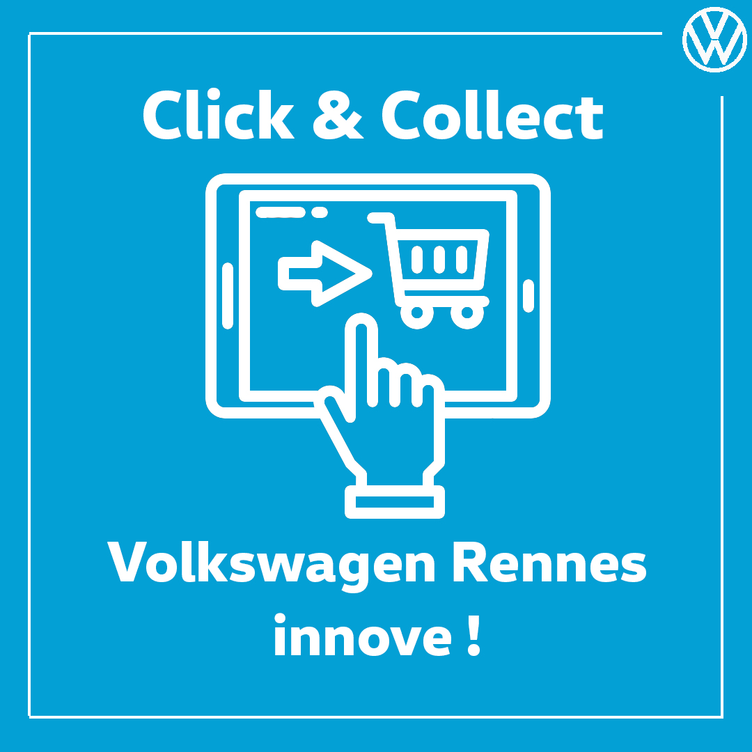 Click and collect Volkswagen Rennes Véhicules Neufs