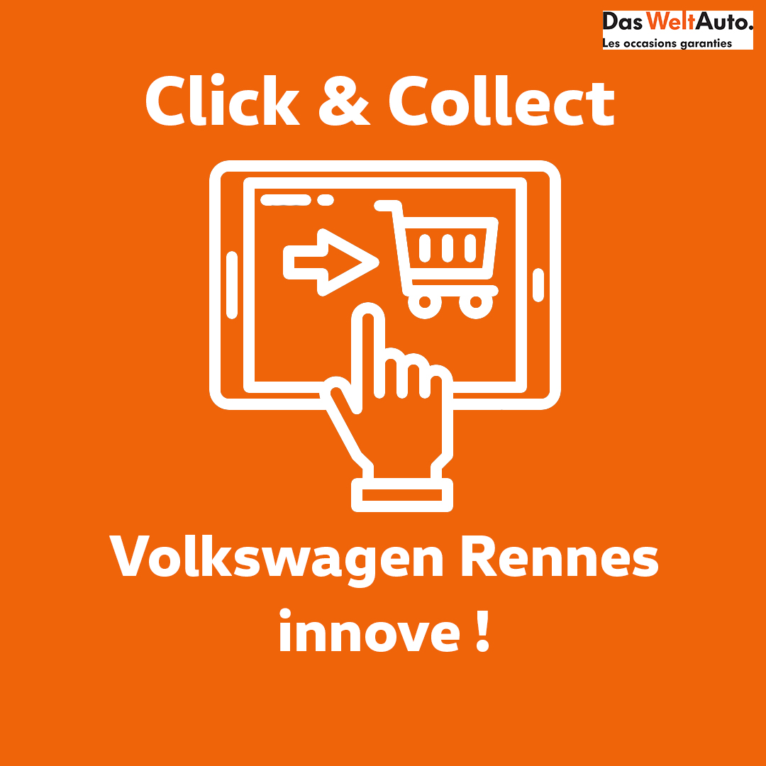 Click and collect Volkswagen Rennes Véhicules d'occasion
